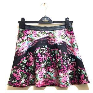 Lush flared skirt